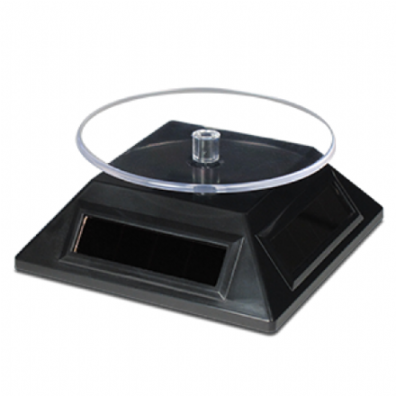 Metal Earth Solar Powered Rotating Display Stand